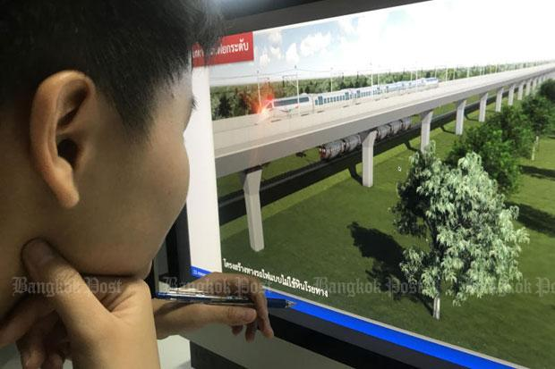 Thailand to ink deal on Thai-Lao line