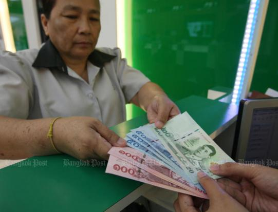 Baht falls to lowest level since January