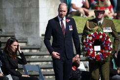 Prince William attends emotional Anzac Day ceremony in New Zealand | Bangkok Post: news
