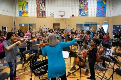 In Baltimore, violins to combat violence | Bangkok Post: news