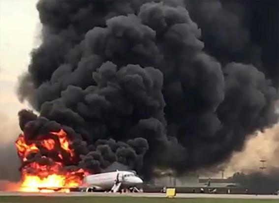 Russia probes pilot error after deadly plane blaze | Bangkok Post: news