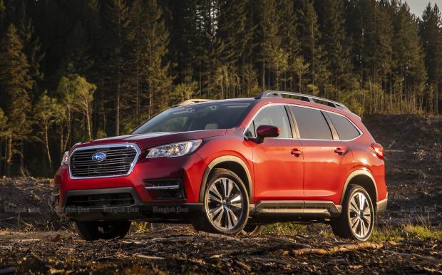 Subaru eyes four SUVs for Thailand by 2021