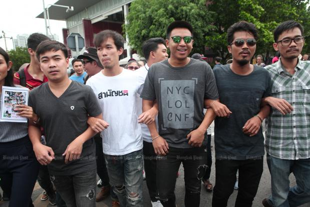 4 years on, 'Pai Dao Din', 12 other activists fight rally charges