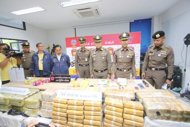 9 drug suspects arrested, 6m speed pills seized