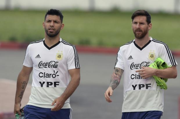 ac3e57075fb Messi and Aguero in Argentina Copa America squad