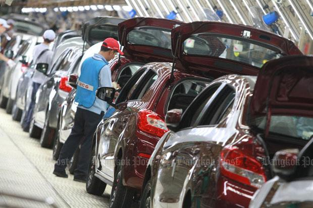 Car shipments tumble to 24-month low | Bangkok Post: business