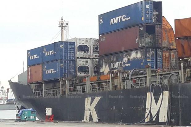 Laem Chabang ship fire raises more questions | Bangkok Post: news