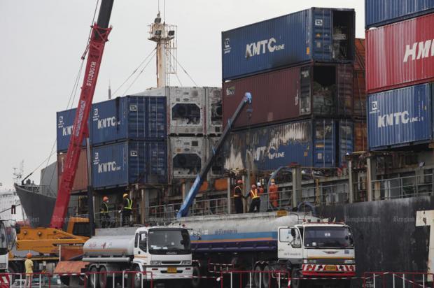 Port fire sparks scrutiny | Bangkok Post: news