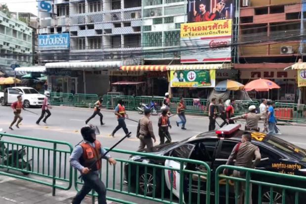 Man killed, 3 hurt in motorcycle taxi brawl