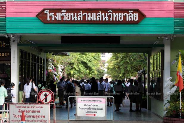 Two Bangkok schools close over virus fears