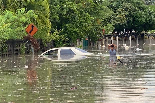Flooding hits Pattaya