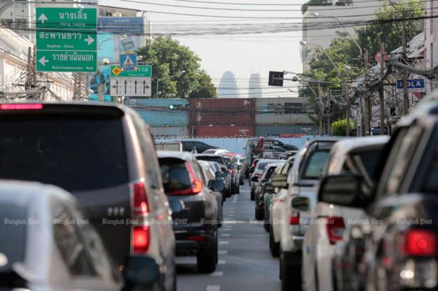 Bangkok roads blocked ahead of rally | Bangkok Post: learning