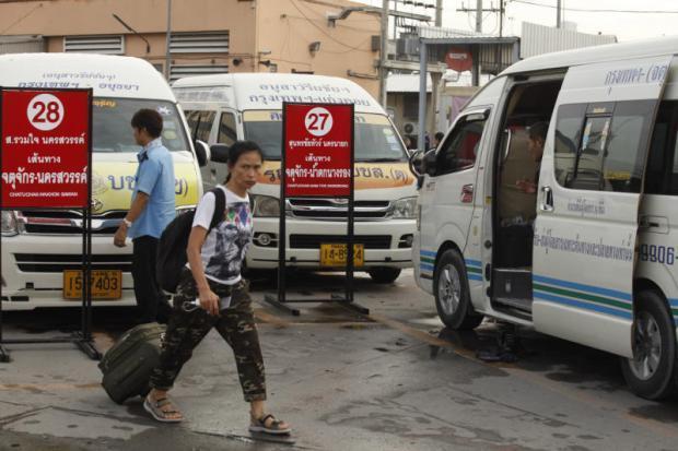 7d0f37320e1f Van services relocate to 3 bus terminals