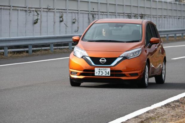 2017 Nissan Note E-Power hybrid review