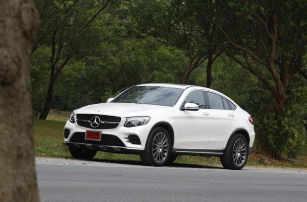 Mercedes-Benz GLC250d Coupe review