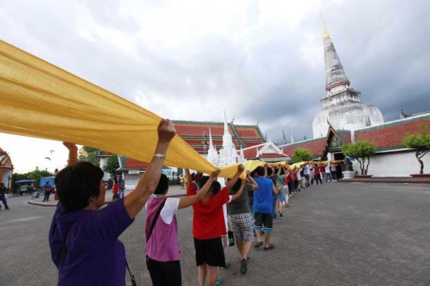 Buddhist fair in the South