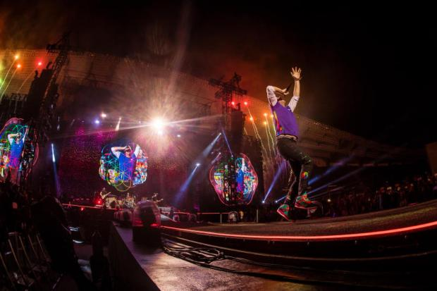 Coldplay thrill Bangkok with sound and spectacle