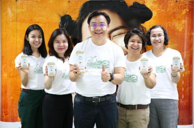 Snake launches new 'Thanaka' powder | Bangkok Post: business