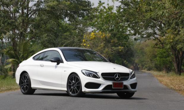 Mercedes-AMG C43 Coupe (2017) review