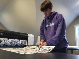 Teen sells $1 million in custom socks