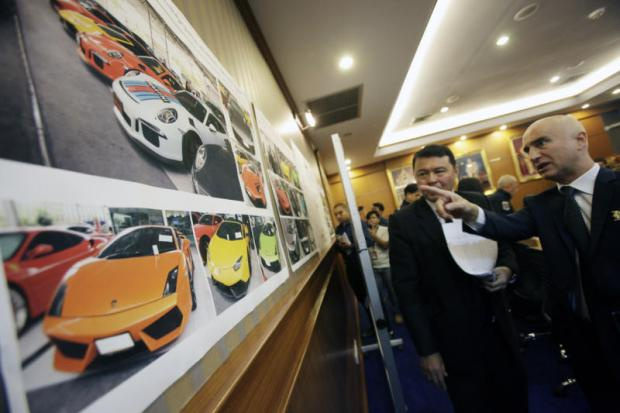 10,000 supercars face tax probe
