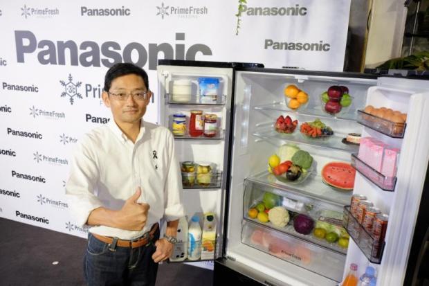 Panasonic banks on hot refrigerator sales