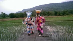 Ghost festival in Loei