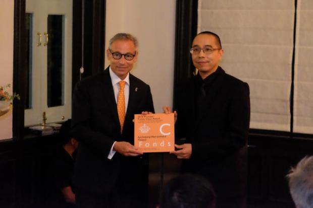 Thai filmmaker receives rare honour