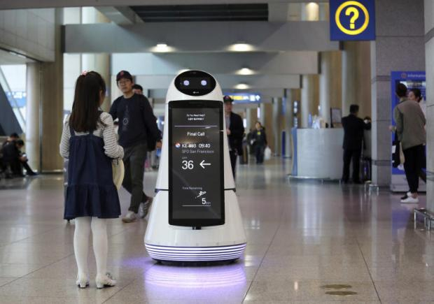 Robots to aid tourists, clean floors at Seoul airport