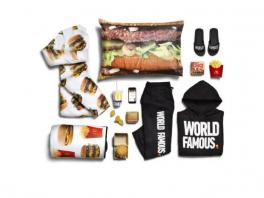 McDonald's serves up a clothing line