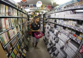 Retro game hunters flock to Super Potato