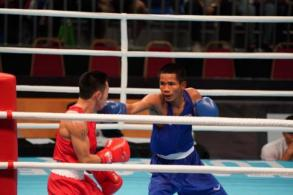 Five in finals, one settles for boxing bronze