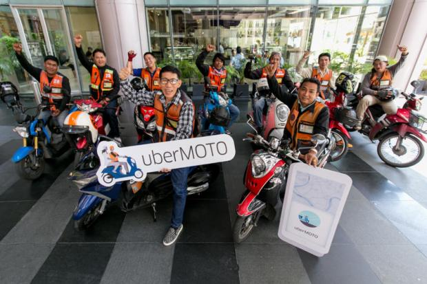 New motorcycle app for Bangkok commuters