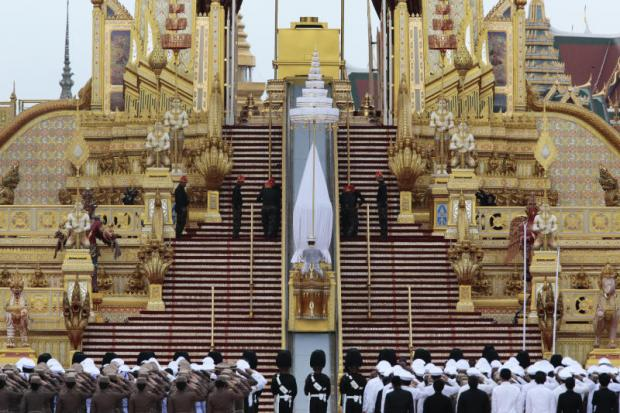 City steps up plans for royal cremation
