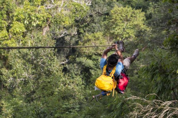 Team zeroes in on illegal ziplines