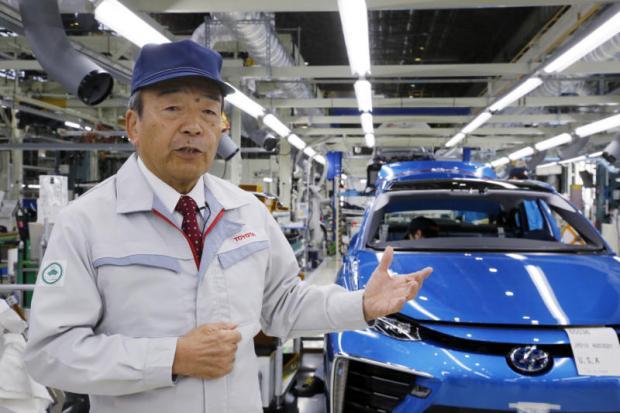 Amid EV buzz, Toyota bullish on hydrogen