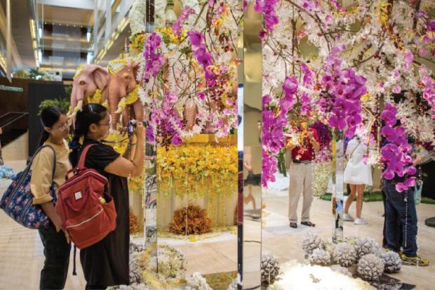 Flower fair in the capital