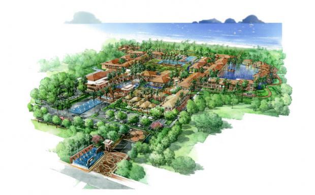 Apex plans 4 hotels on 400 rai in Krabi