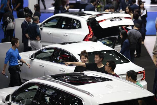 Motor Show Propels Car Sales Bangkok Post Business - Auto show car sales