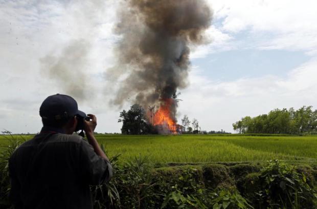 The minefield of reporting the Rohingya
