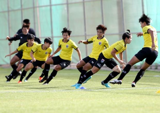 Thais eye big surprise in play-off of Women's Asian Cup