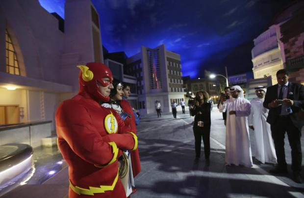 Abu Dhabi's Warner Bros indoor amusement park to open in July