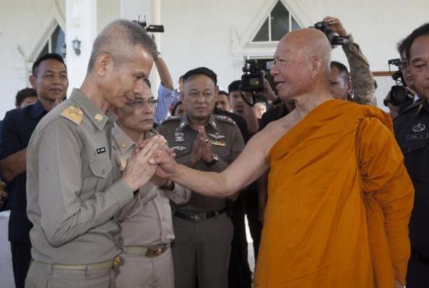 Pongporn warns media over monks