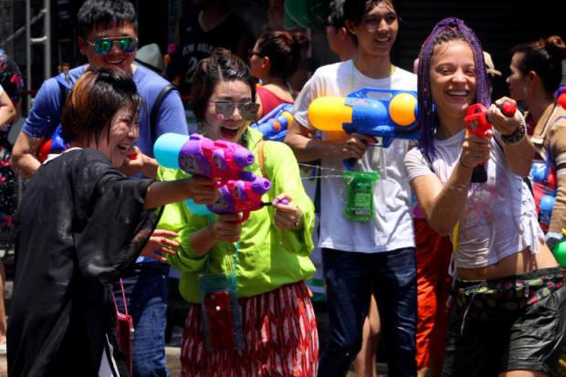 Songkran attracts 3.09m foreign visitors