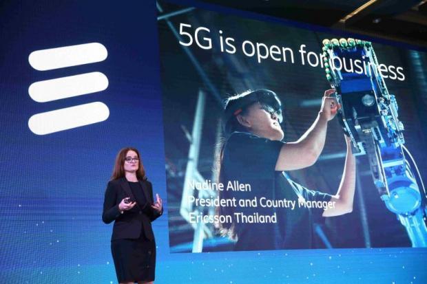 Ericsson boss urges proactive 5G approach | Bangkok Post: business