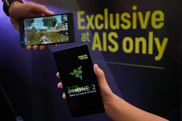AIS backs Razer 2 phone for game fans
