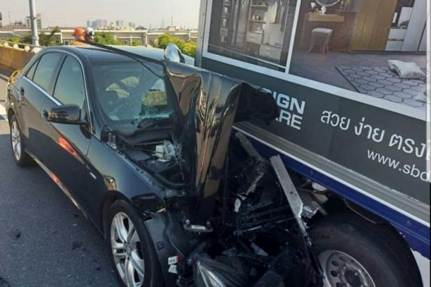 Driver 'passed out' before truck smash
