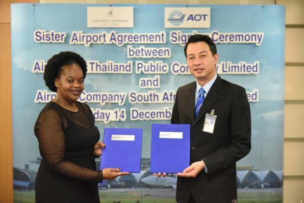 AoT inks deal with South African firm | Bangkok Post: business