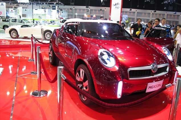 MG Motor Bangkok Post Auto - Mg car show