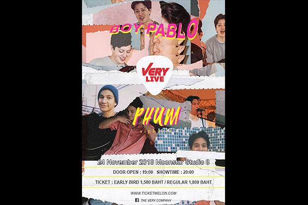 Very Live: Boy Pablo & Phum Viphurit-Bangkok PostLifestyle